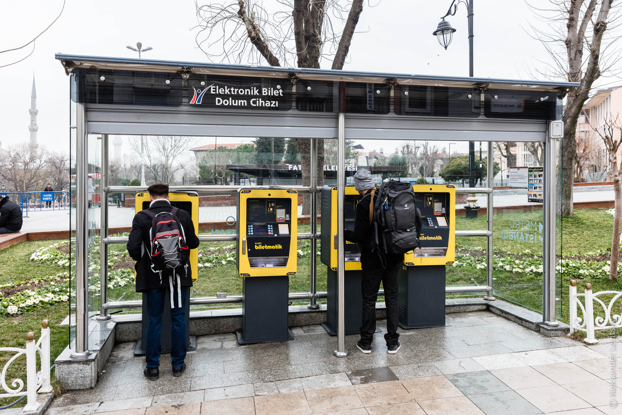 Где покупать билет на трамвай в Стамбуле