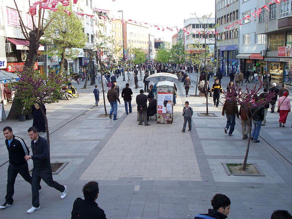 Район Зейтинбурну в Стамбуле