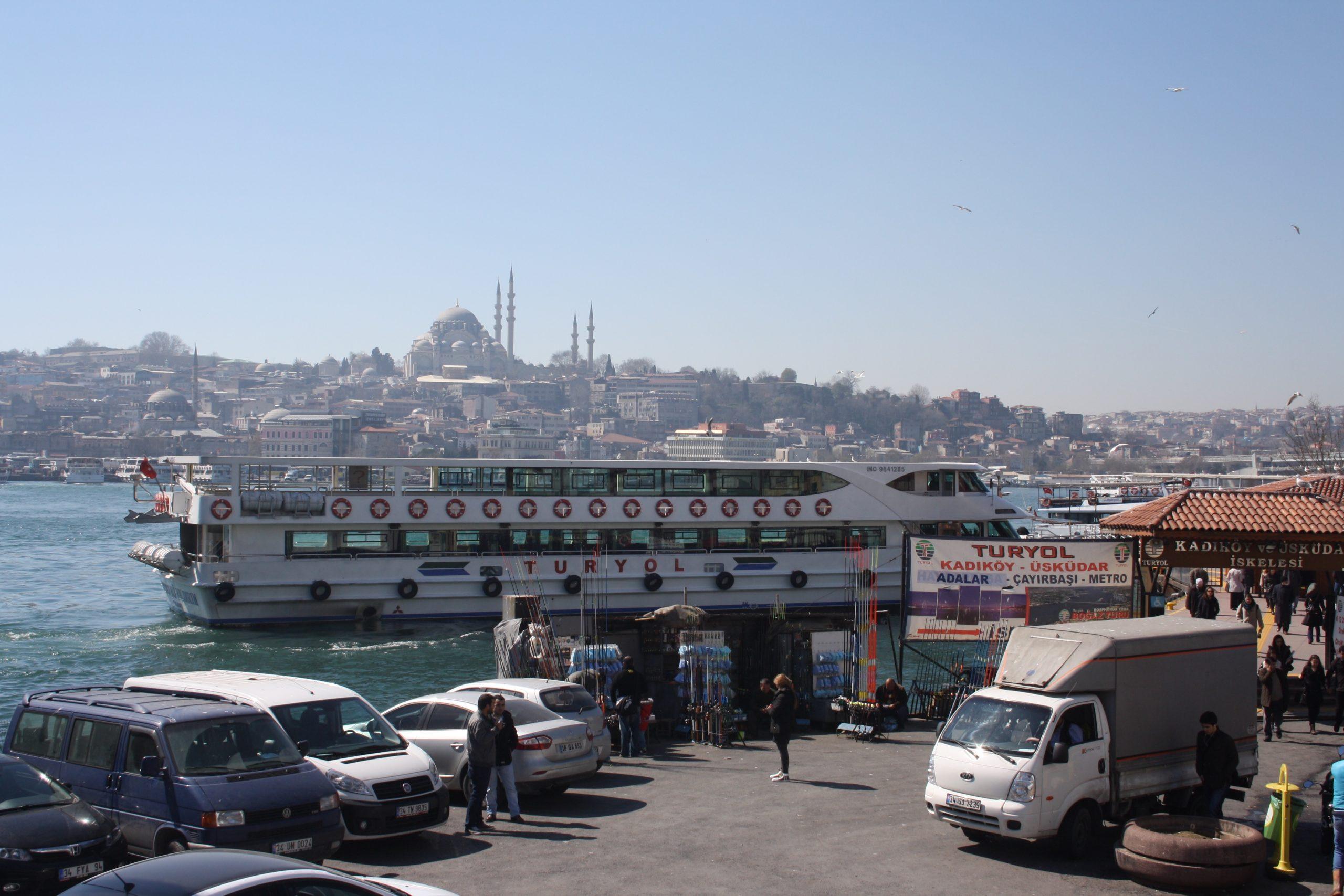 Паромы и вапуры в Стамбуле