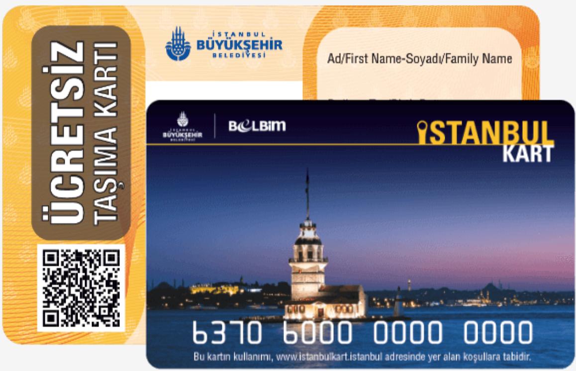 Ücretsiz Istanbulkart