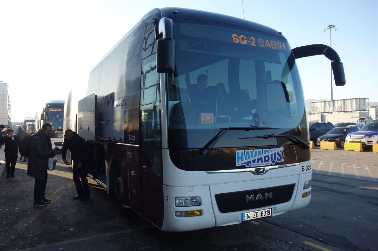 Автобусы из аэропорта Сабихи Гёкчен
