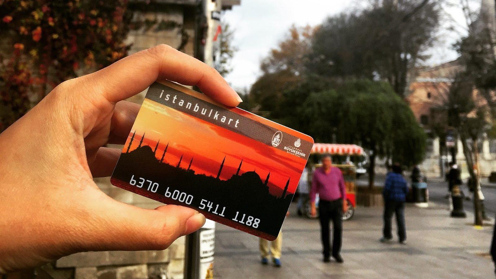 Проездной Istanbulkart