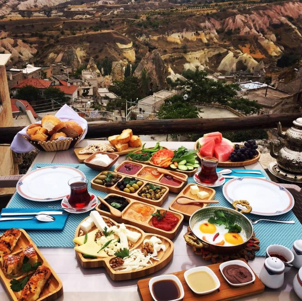 Обед и ужин в Каппадокии