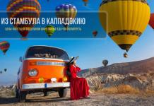Поездка из Стамбула в Каппадокию самостоятельно