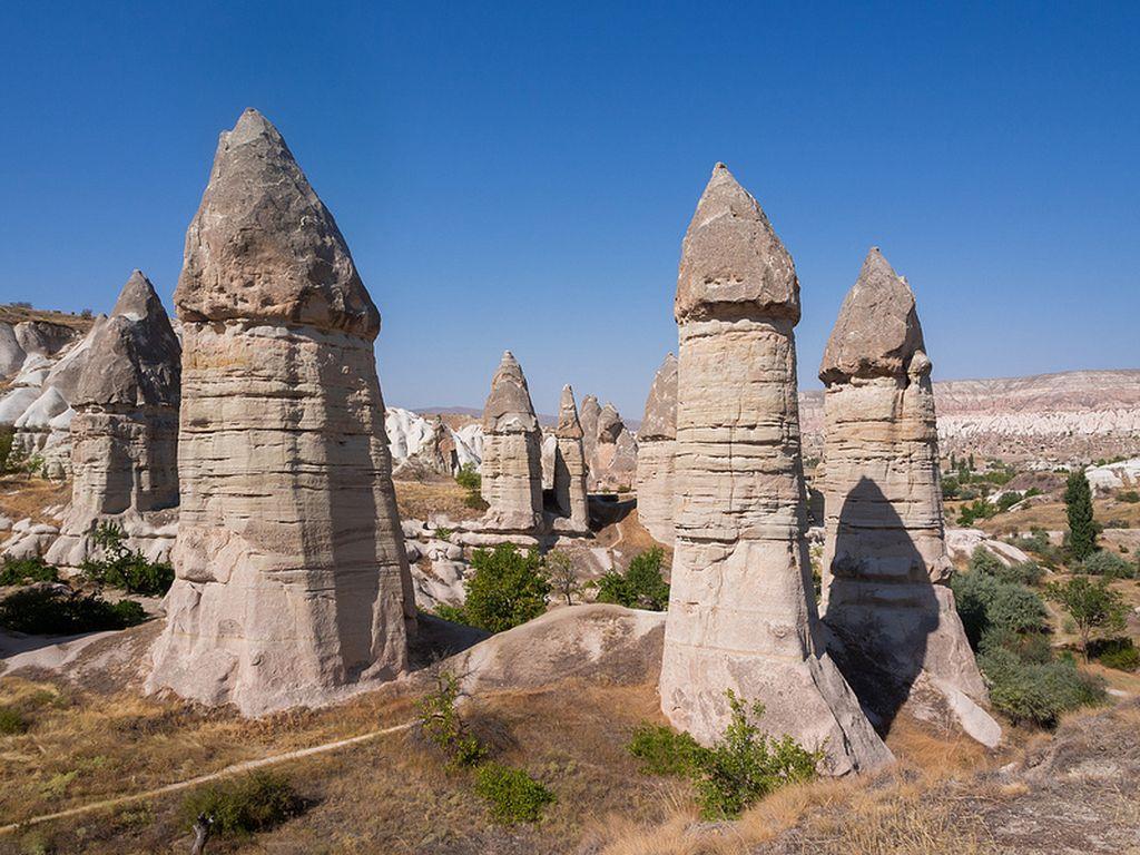 Худу – каменные столбы в Каппадокии