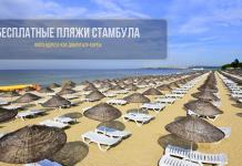 Бесплатные пляжи Стамбула