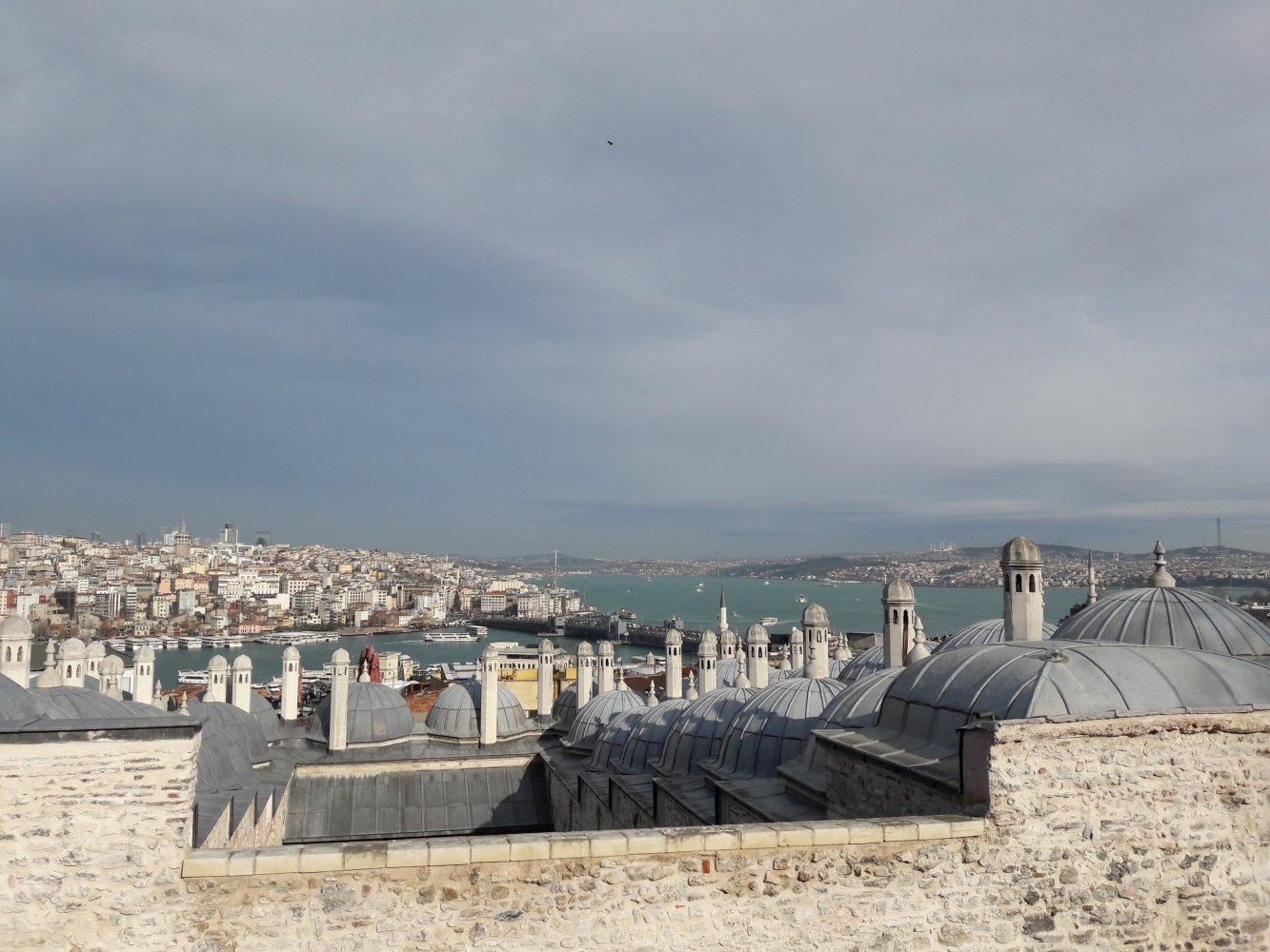 Мечеть Сулеймание - смотровая площадка