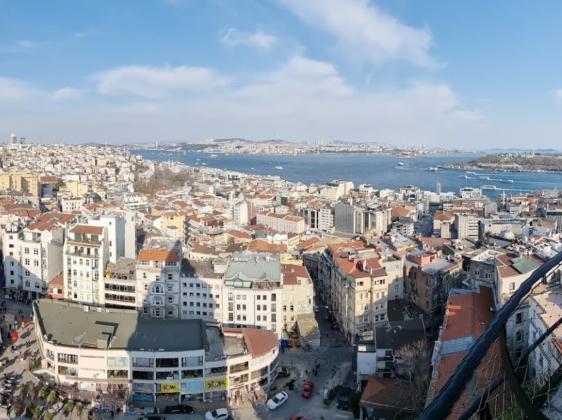 Смотровая площадка на Башне Галата в Стамбуле