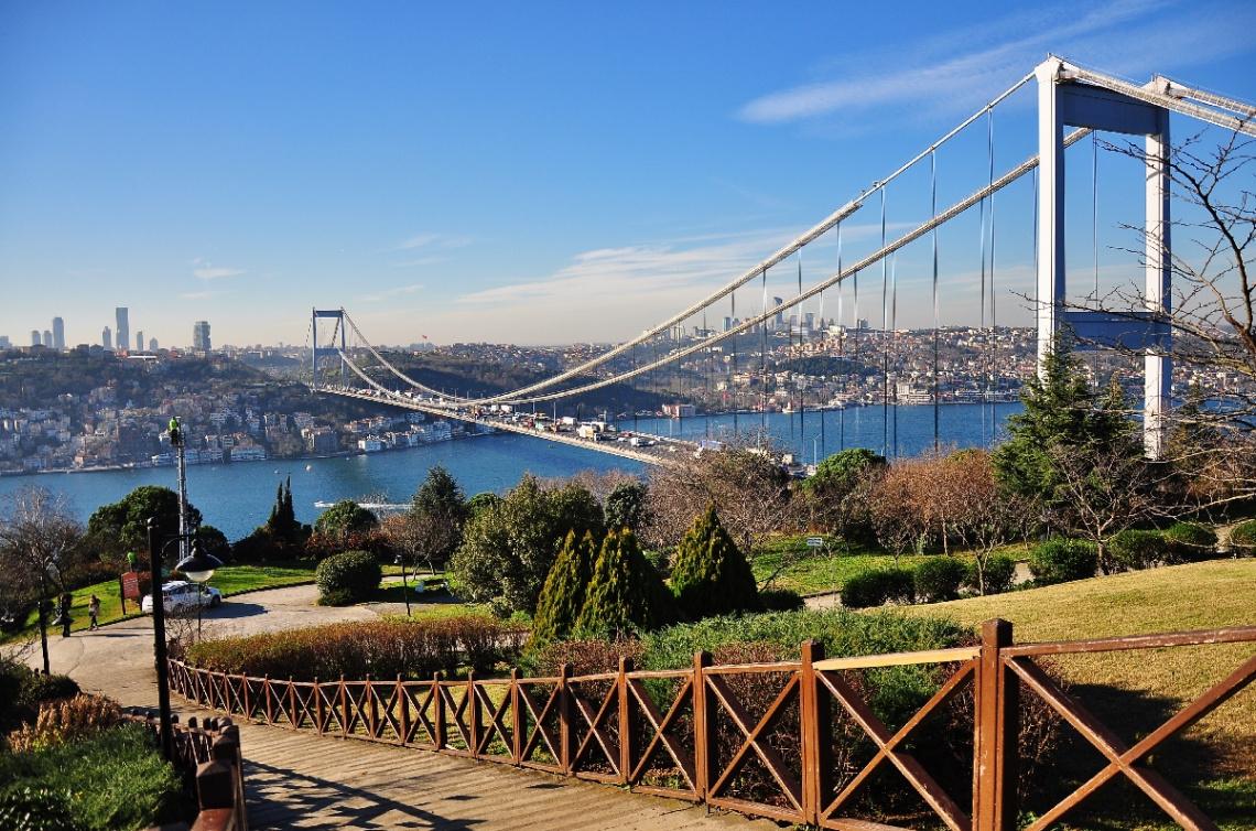 Холм Отагтэпэ в Стамбуле