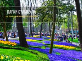 Самые лучшие парки в Стамбуле - ТОП 9