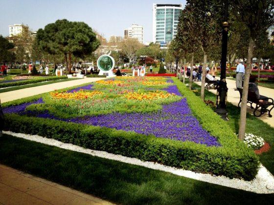 Парк Гёзтепе в Стамбуле