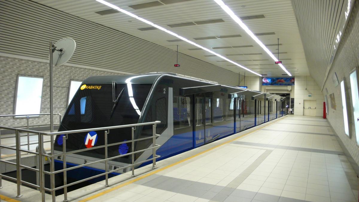 Funiculer Line (F1) в Стамбуле