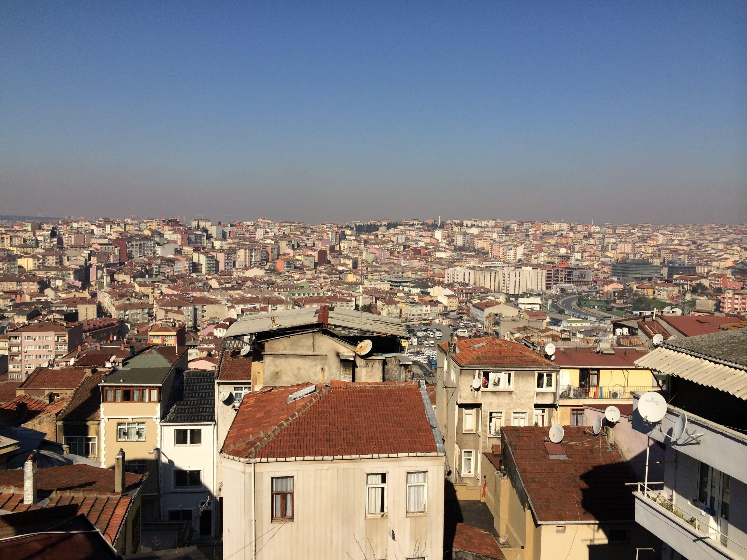 Квартира в аренду в Стамбуле с видом на город